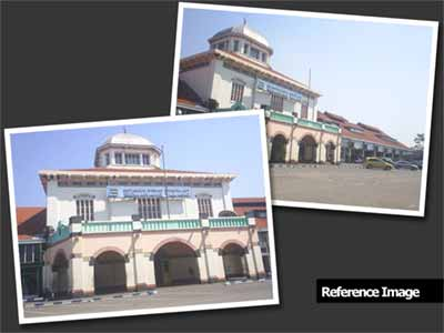 We Have Two Pictures As Reference These Picture Show A Train Station It S Located In Semarang Wich Were Built During Dutch Colonial