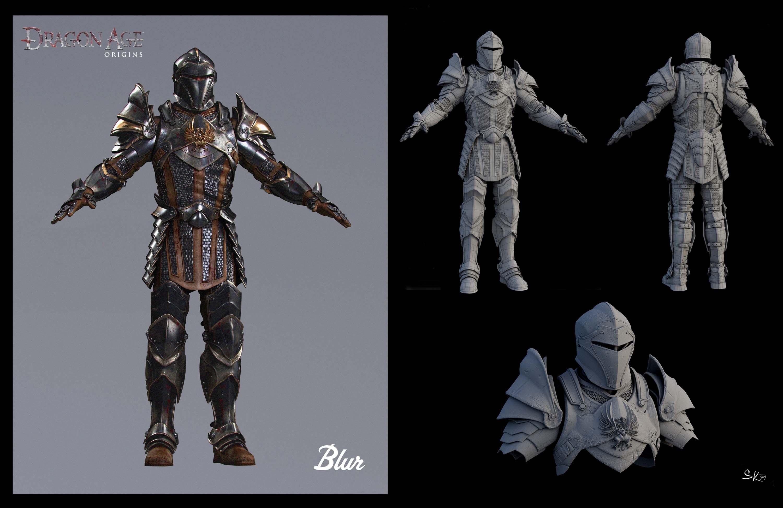 Dragon Age Origins Warden Armor Mod