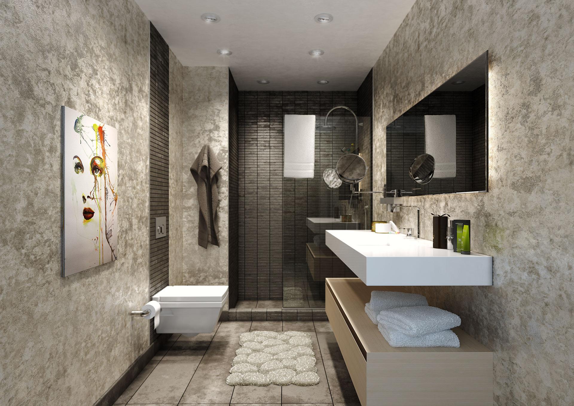 bathroom - Portfolio work - Evermotion