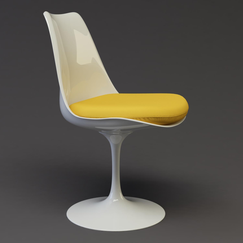 Tulip chair Portfolio work Evermotion