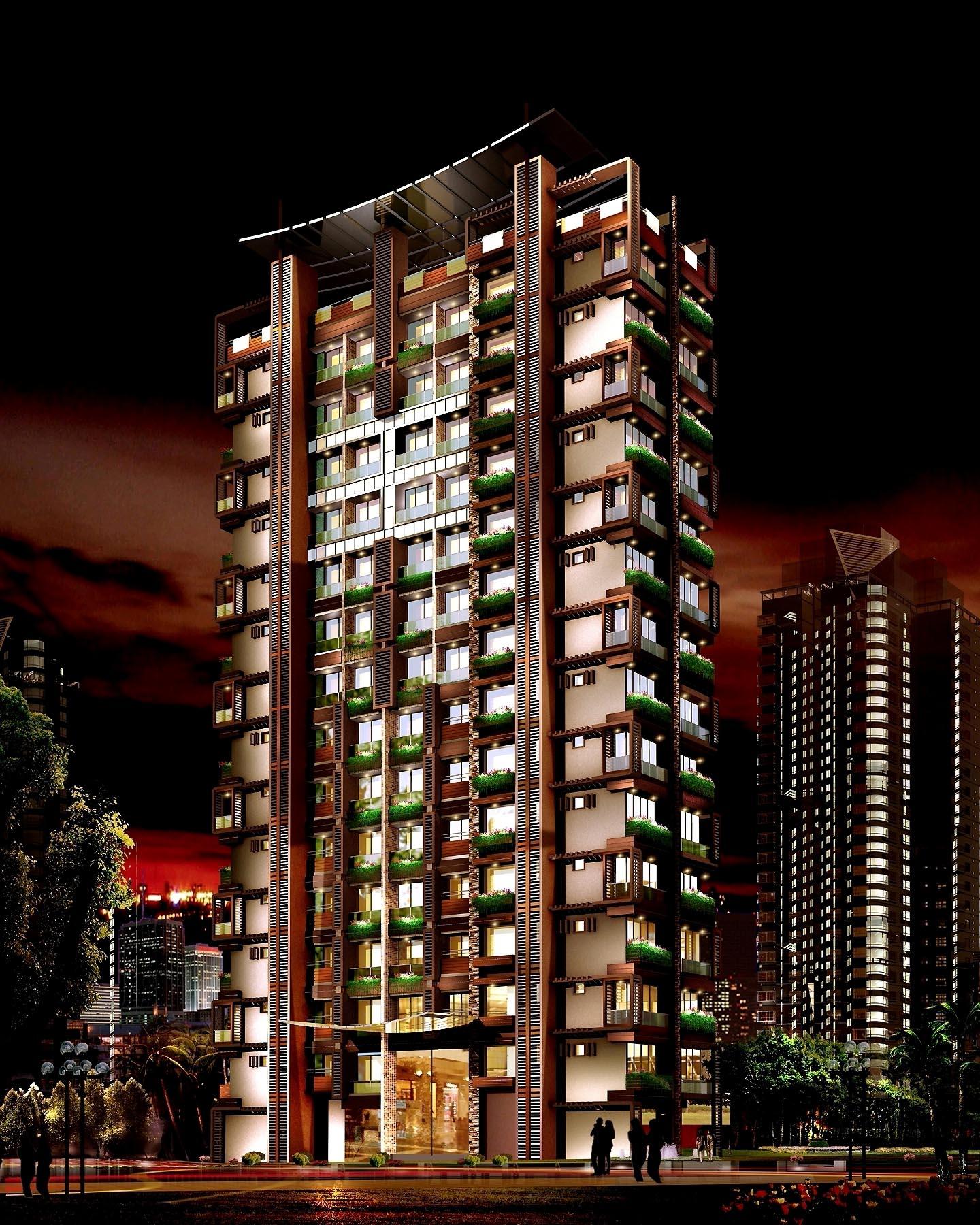 Galaxy Apartments, India By Depesh Panchal