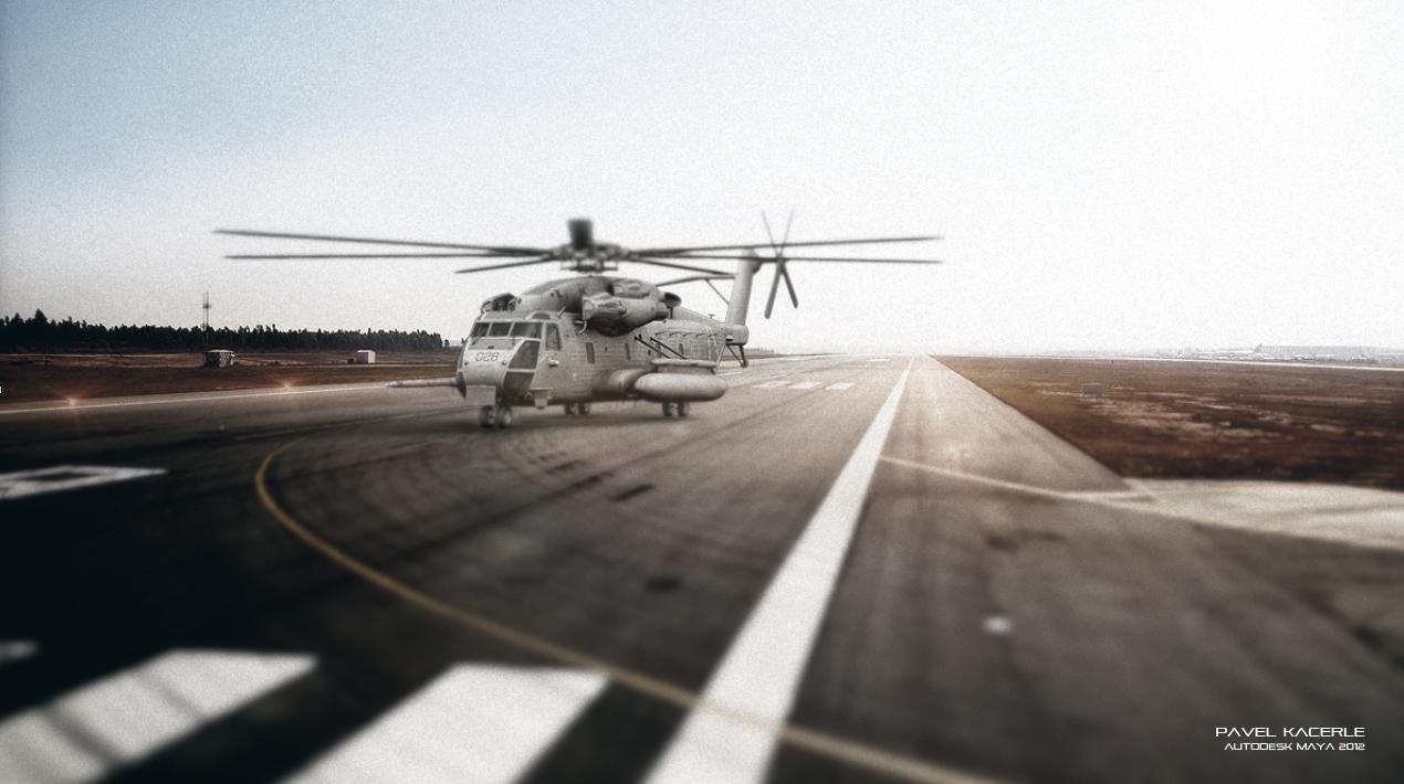 Sikorsky Ch 53 Sea Stallion Portfolio Work Evermotion