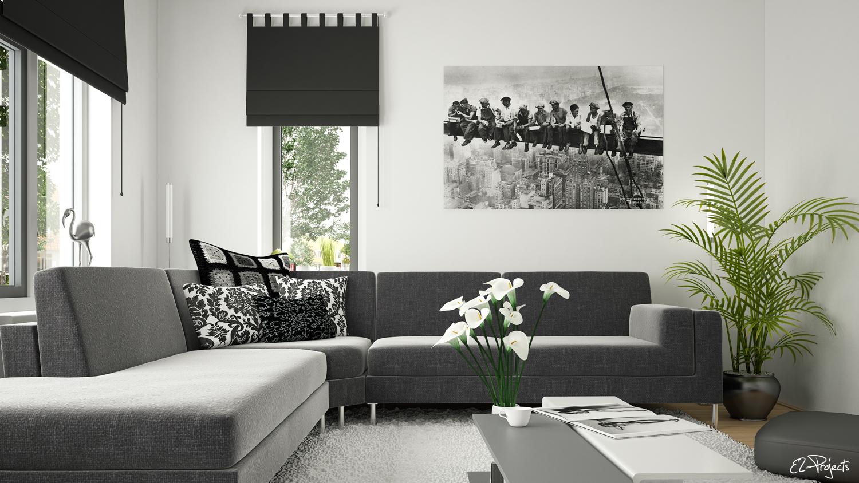 Living room interior 2 - Portfolio work - Evermotion