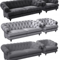 3d modeling and visualisation classic sofa