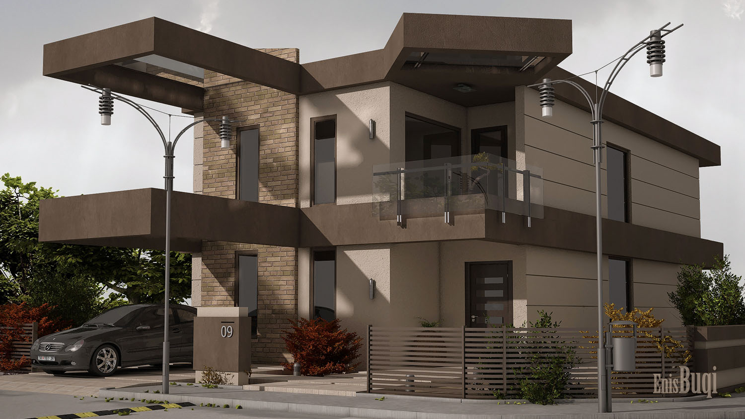 The Best 100+ Exterior House Designs 3d Max Image Collections (www ...