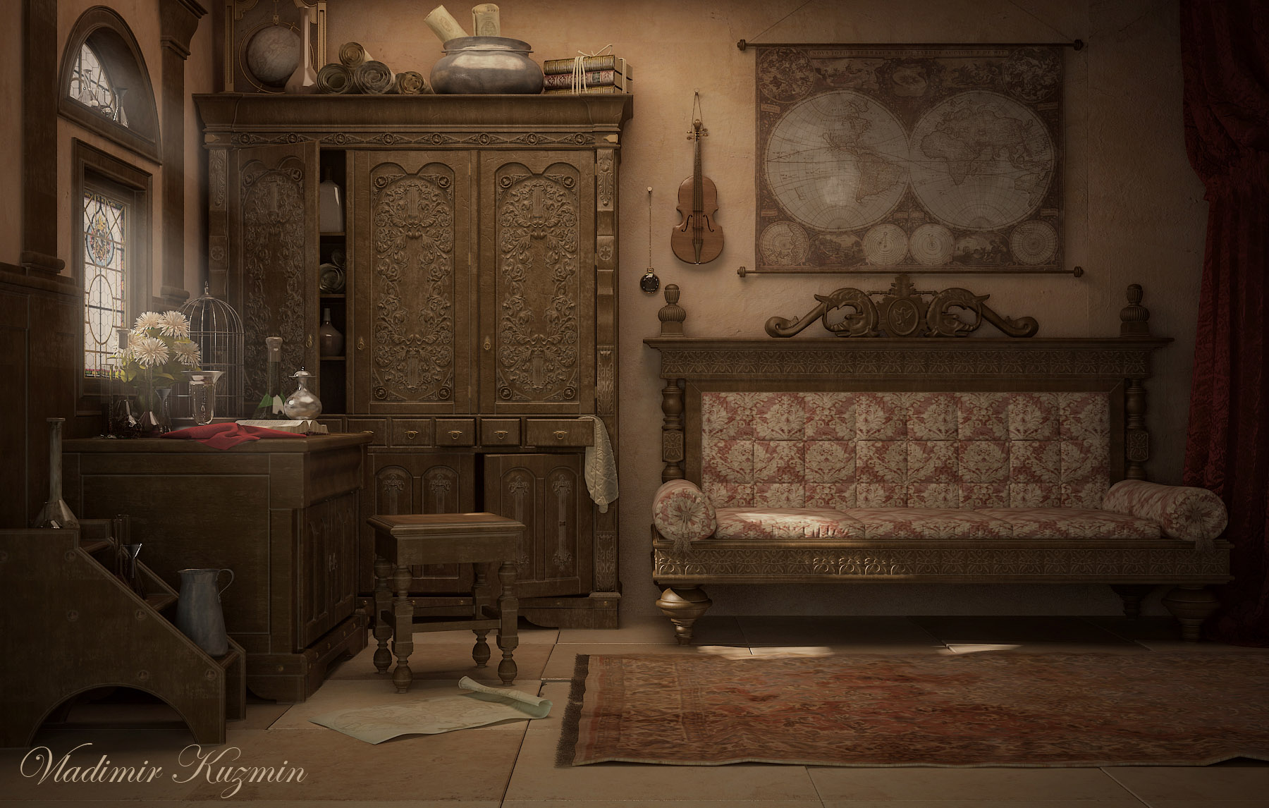 Old World Living Room Pictures