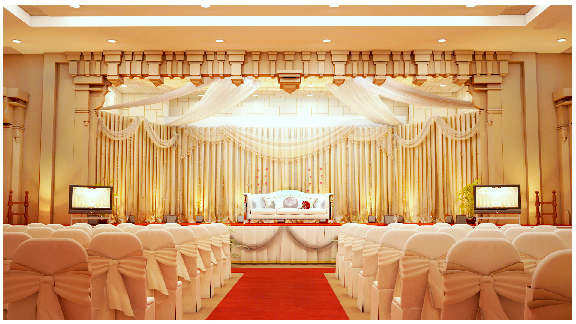 Indian Wedding Hall By Sathish Ar