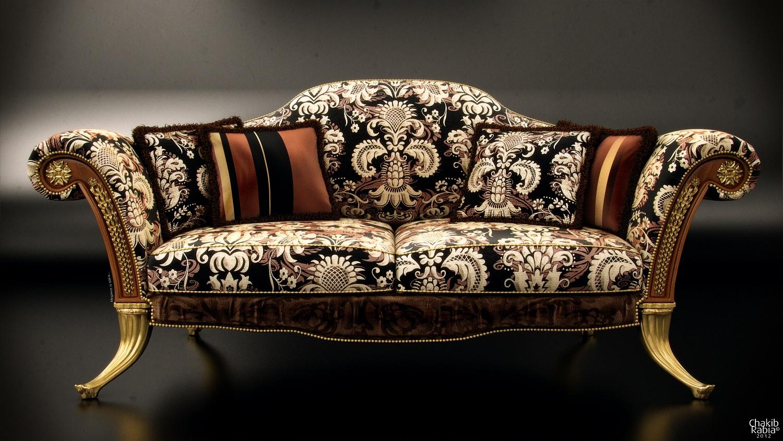 Classic Sofa By R.Chakib