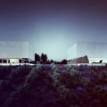 Architectural concept of vineyard in Requena