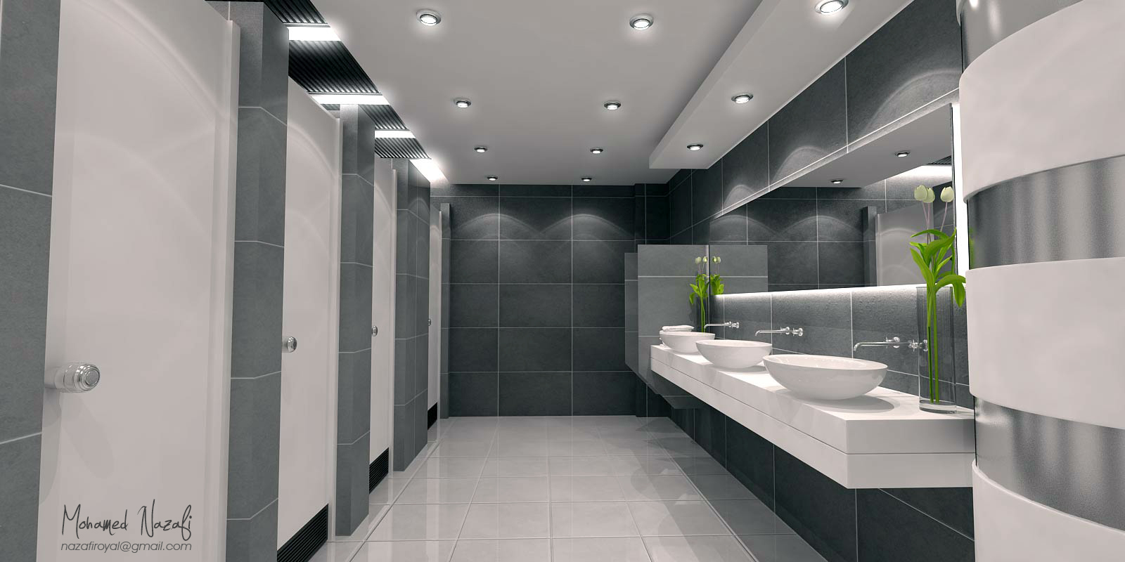 Public washroom portfolio work evermotion - Washroom design pictures ...