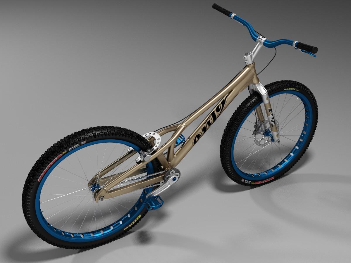 trial bike portfolio work evermotion. Black Bedroom Furniture Sets. Home Design Ideas