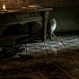 Prince's desk room