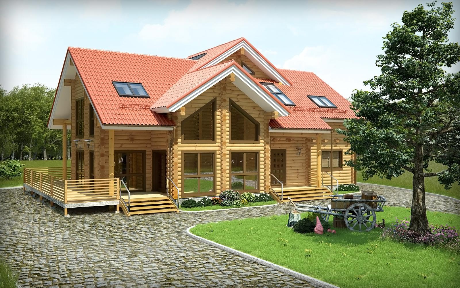 Wooden house by daniil sanders