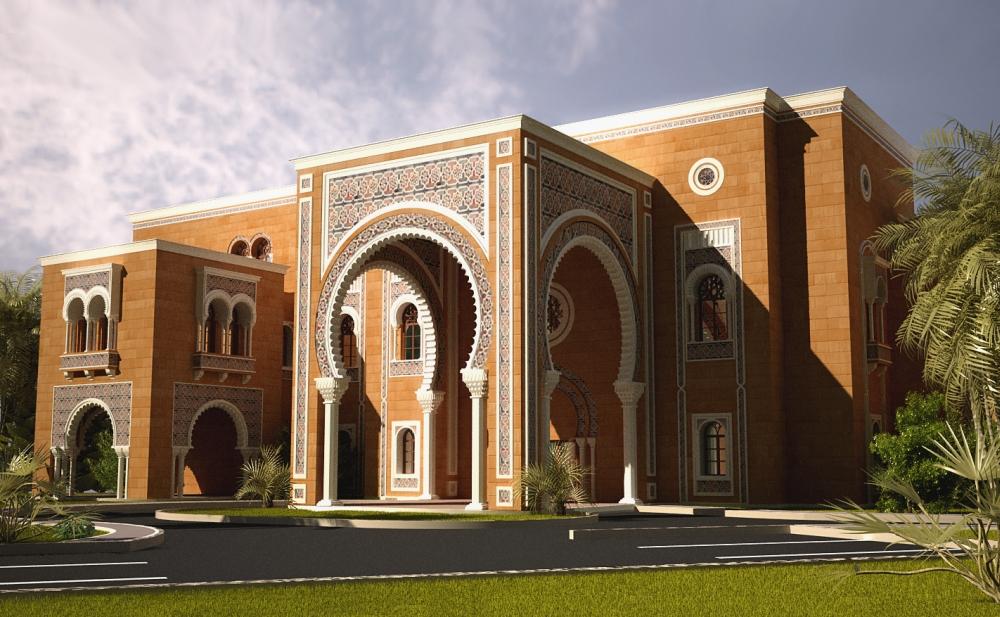 Villa amer portfolio work evermotion for Home architecture style quiz