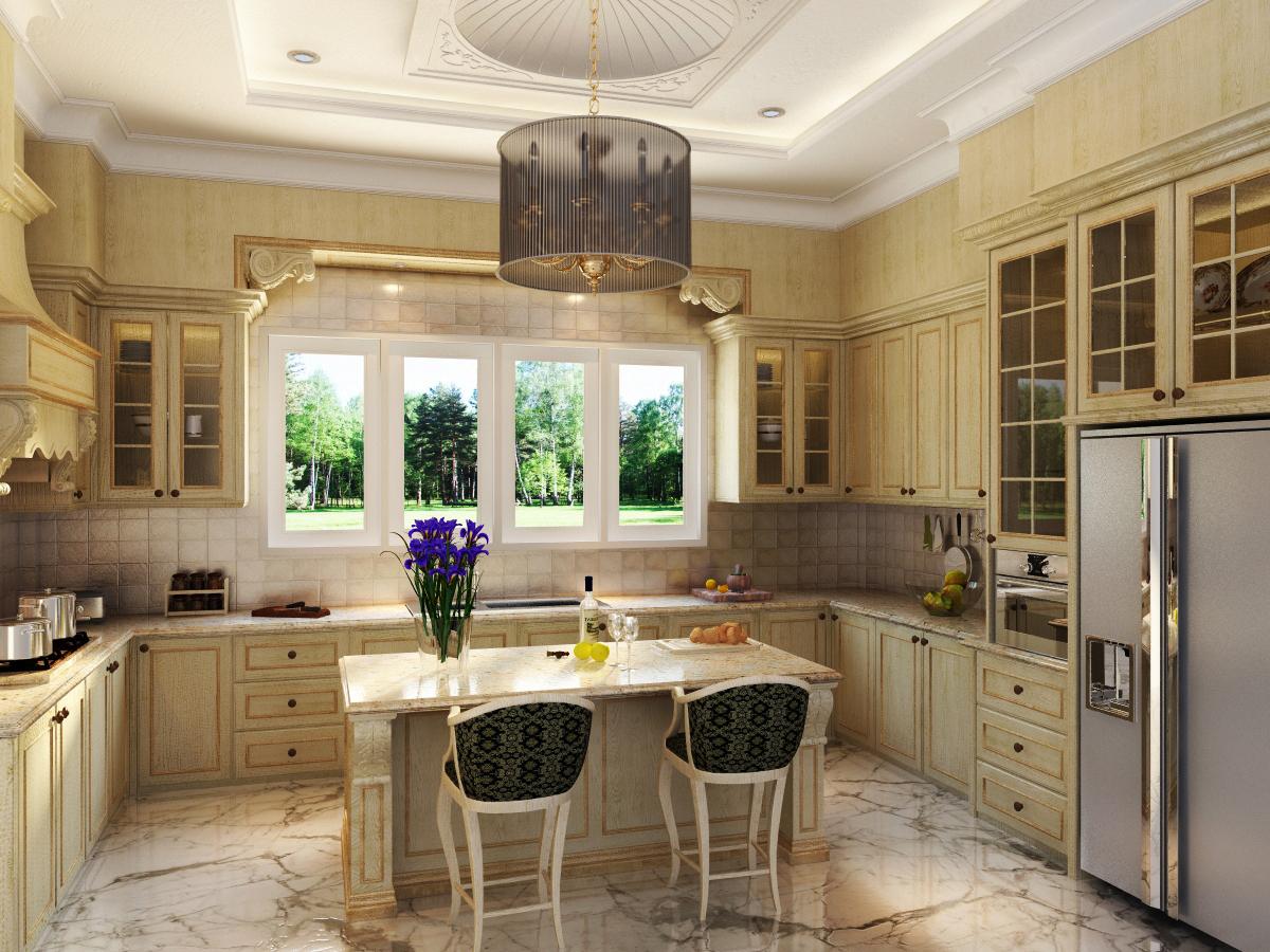 Classic Kitchen Classic Kitchen Portfolio Work Evermotion