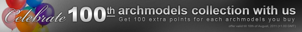 100th archmodels banner