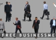 8 free cut out businessmen