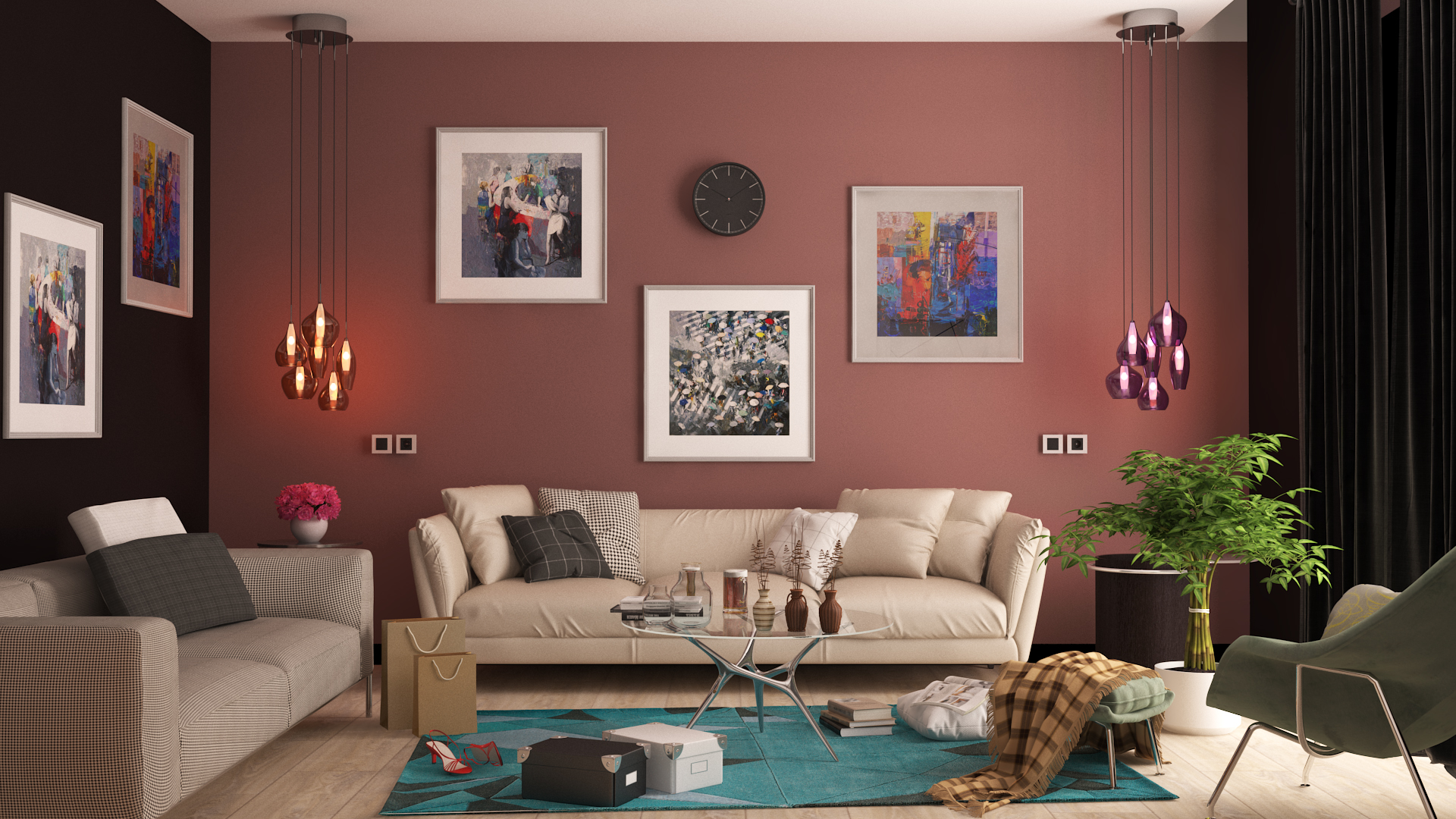 Colorful Room Evermotion