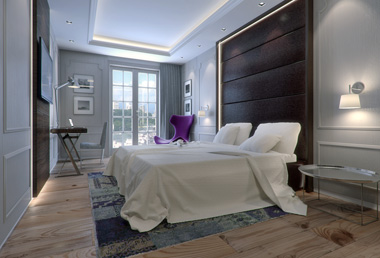 FREE 3D MODEL - HOTEL ROOM download - Evermotion