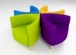 Trieme Tub Chairs by ajsnelgrove