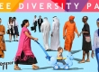 VIShopper cut out people free diversity pack