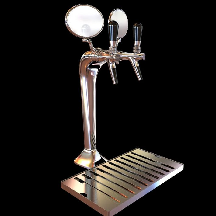 beer tap 7 AM104 Archmodels