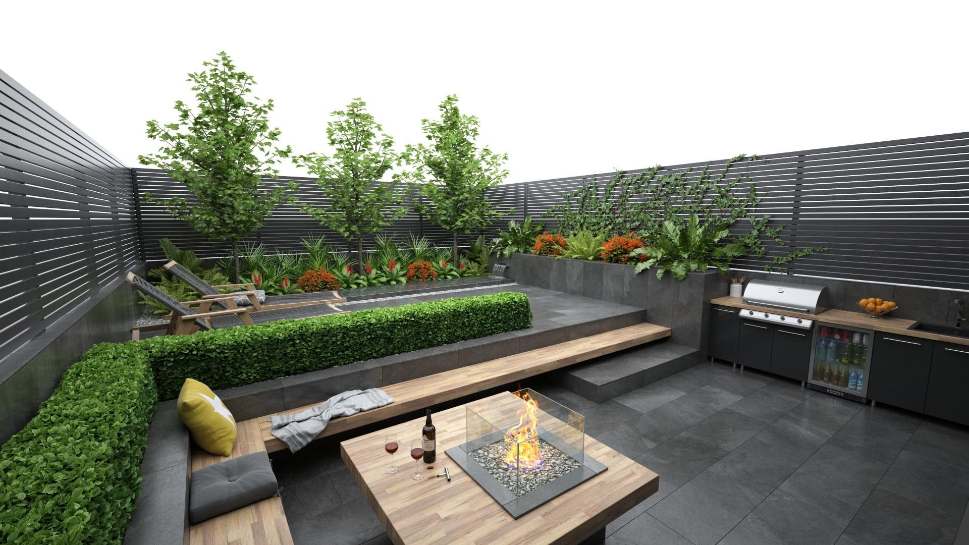 Garden 16 AM248 Archmodels