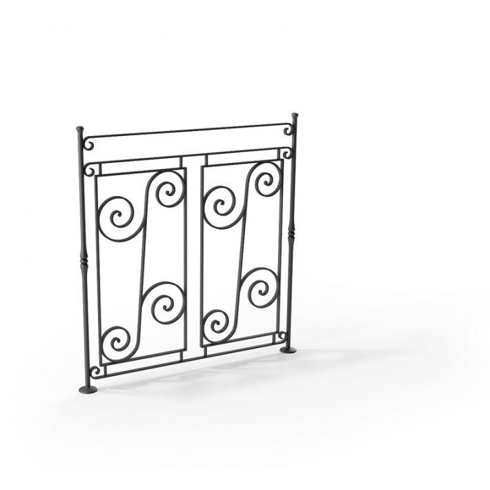 railing 93 AM79 Archmodels