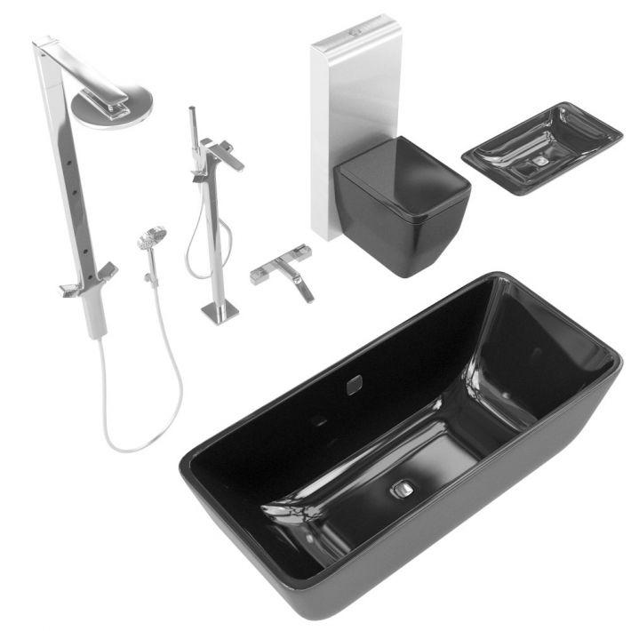 bathroom fixtures 10 AM127 Archmodels