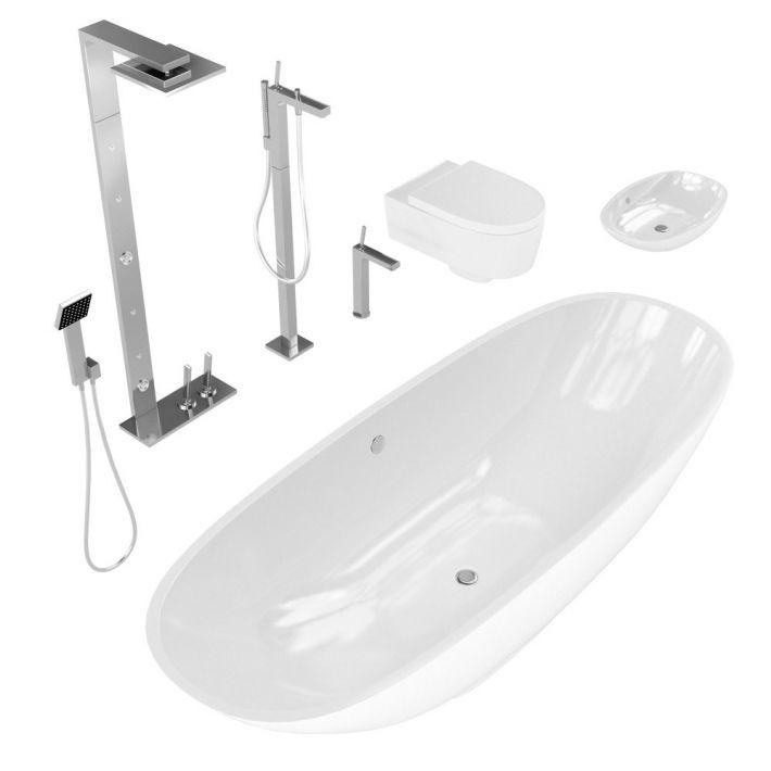 bathroom fixtures 11 AM127 Archmodels