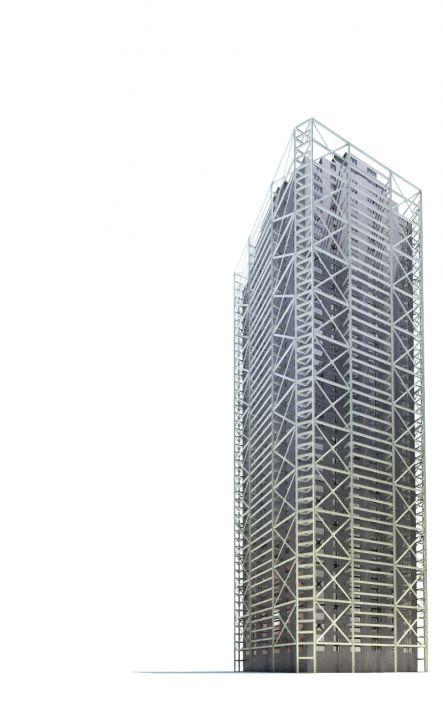 skyscraper 26 AM71 Archmodels