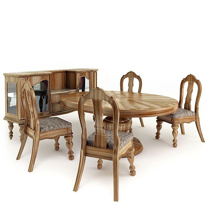 American furnitures set 1 AM65 Archmodels
