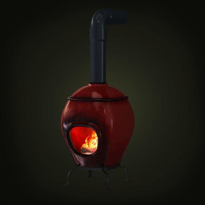 fireplace 58 AM97 Archmodels
