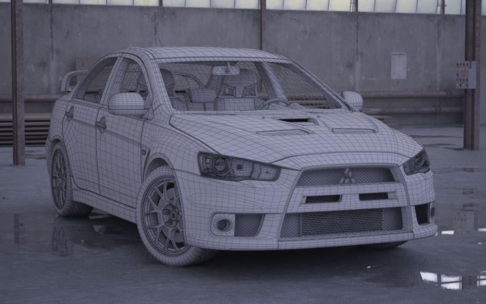 Car 1 Hdmc4 3ds Fbx Max Mxs Obj 3d Model Evermotion