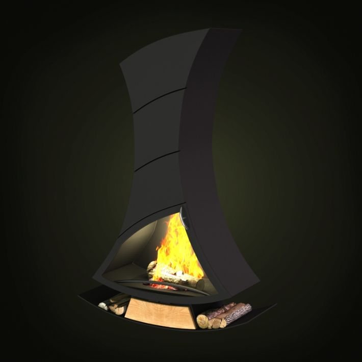 fireplace 24 AM97 Archmodels