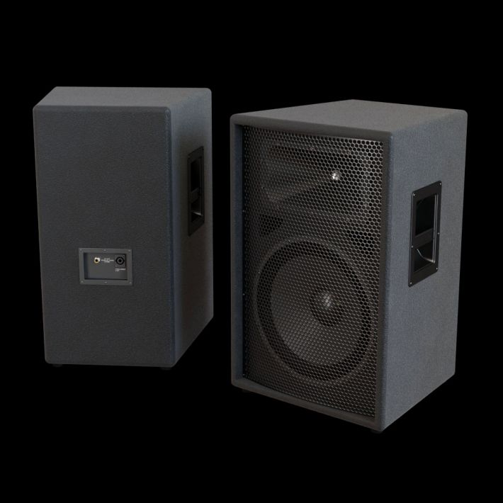 loudspeaker 55 AM104 Archmodels