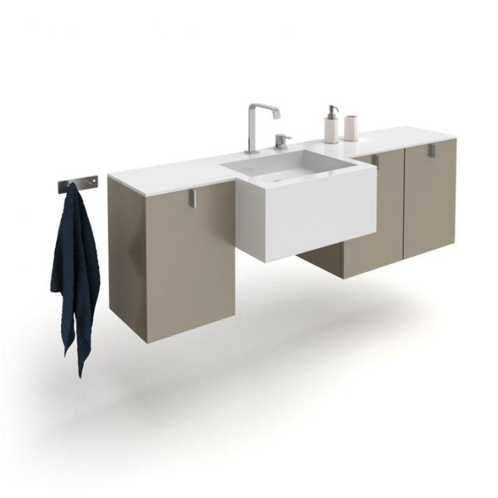 bathroom furniture set 2 AM56 Archmodels