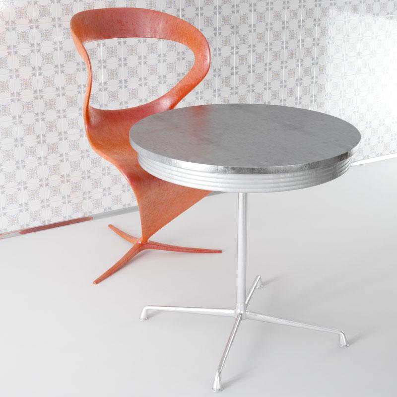 furniture 38 AM143 Archmodels