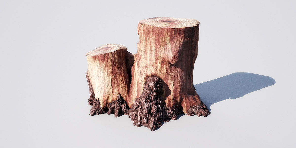 stump 14 2 AM148 Archmodels