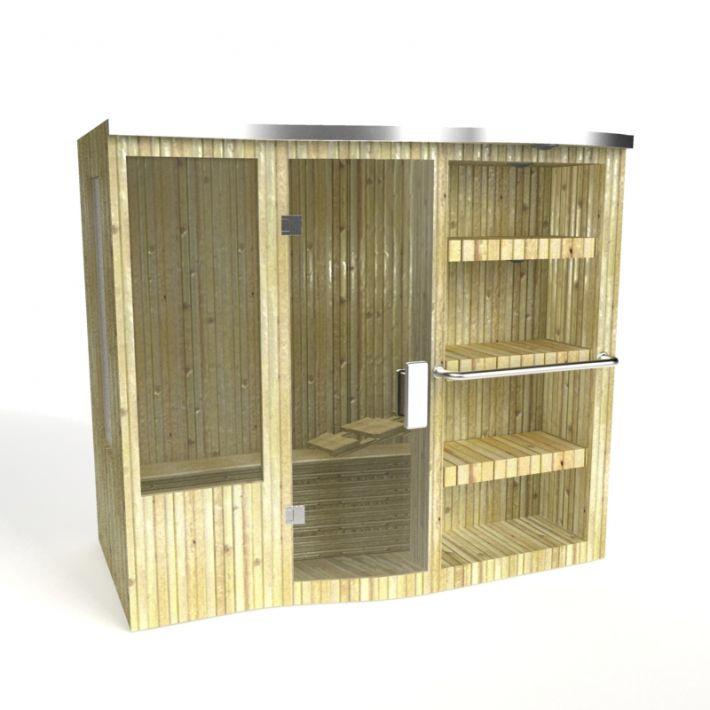 sauna 111 AM15 Archmodels