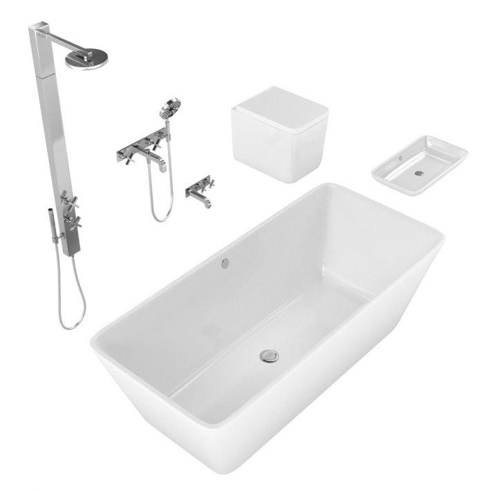 bathroom fixtures 13 AM127 Archmodels