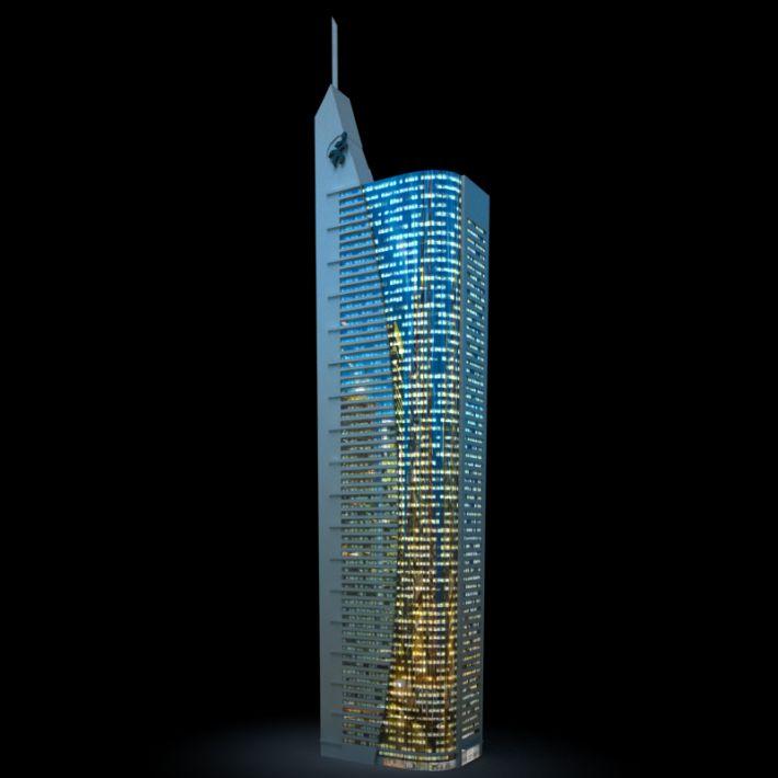 skyscraper 13 AM103 Archmodels