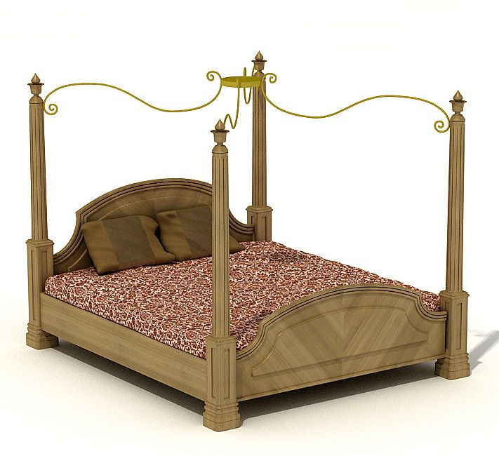 Bed 3 AM37 Archmodels