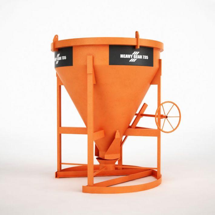 concrete mixer 48 AM115 Archmodels