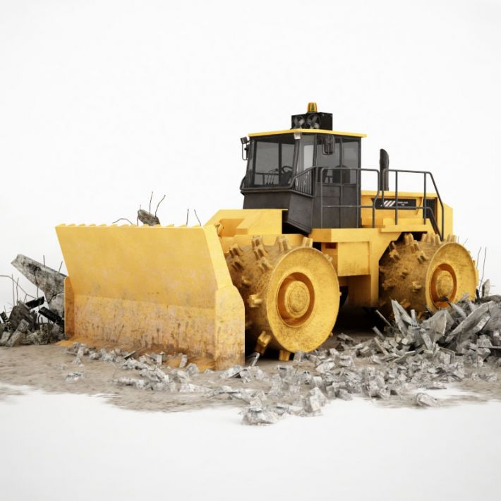 bulldozer 1 AM115 Archmodels