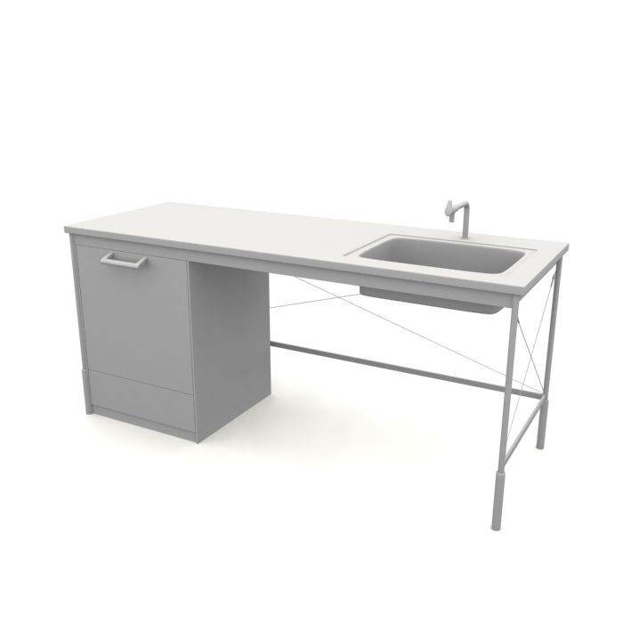 kitchen sink 63 AM10 Archmodels
