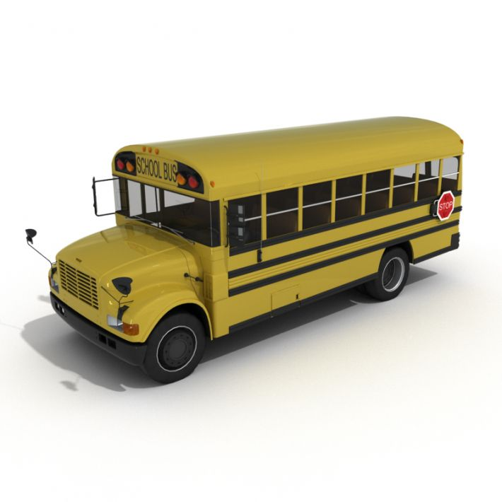 school bus 11 AM55 Archmodels