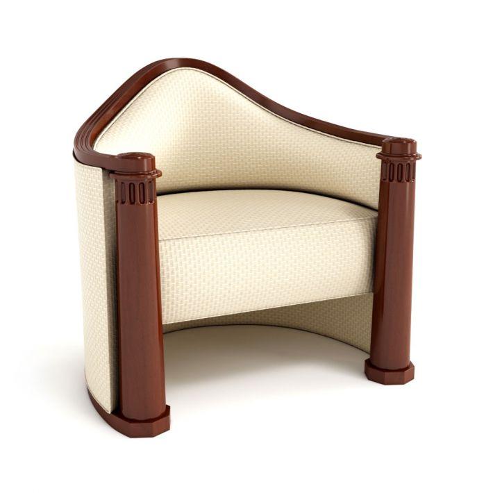 armchair 44 AM122 Archmodels