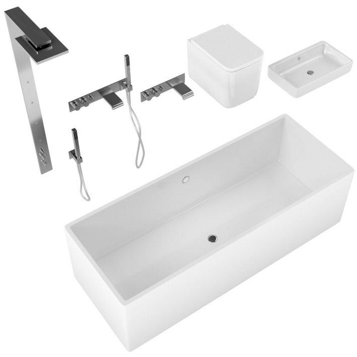 bathroom fixtures 33 AM127 Archmodels