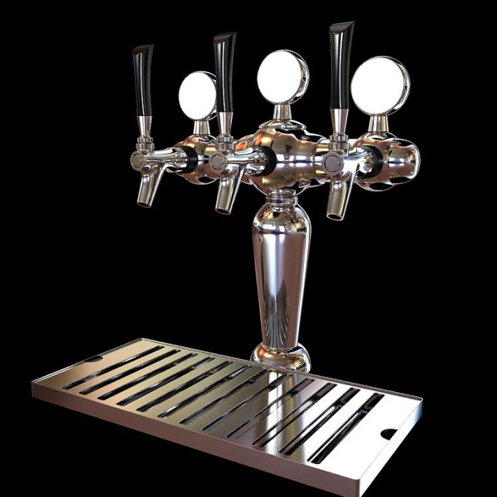 beer tap 9 AM104 Archmodels